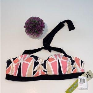 Gianni Bini Swimsuit Bikini Top Size 34D New